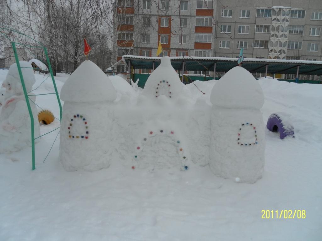 Оформление участка зимой своими руками фото 22